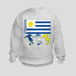 Uruguay Soccer Kids Sweatshirt