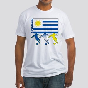 Uruguay Soccer Fitted T-Shirt