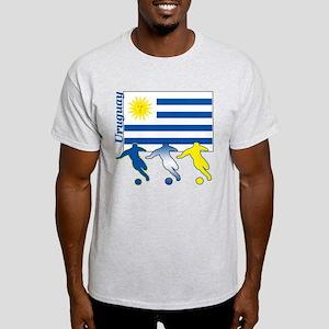 Uruguay Soccer Light T-Shirt