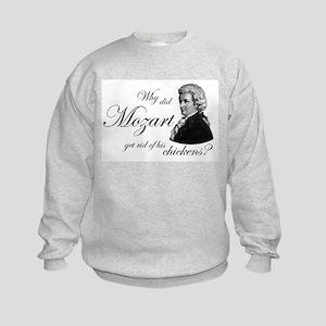 Mozart's Chickens Kids Sweatshirt