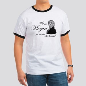 Mozart's Chickens Ringer T