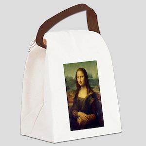 The Mona Lisa - Gioconda - Leonar Canvas Lunch Bag