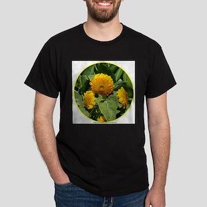 SUNNY SUNFLOWERS Dark T-Shirt