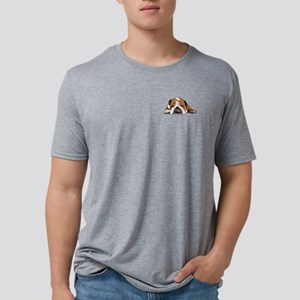 Teddy the English Bulldog Upper Chest T-Shirt