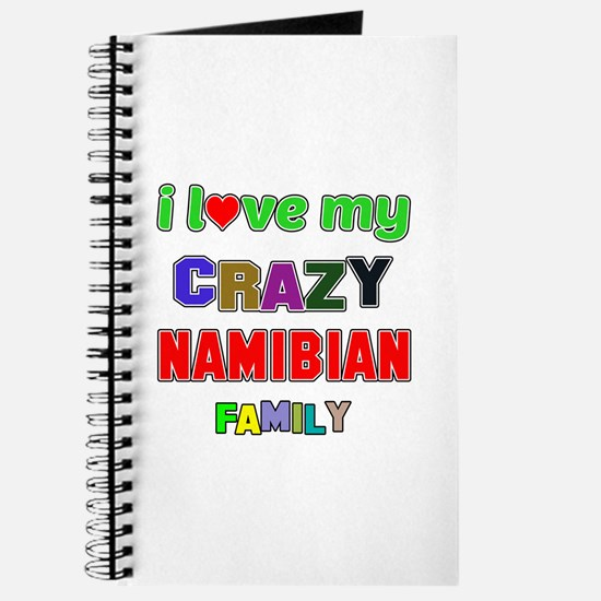 I love my crazy Namibian family Journal