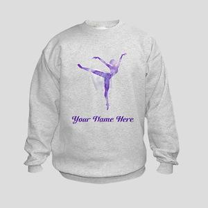 Personalized Ballet Kids Sweatshirt