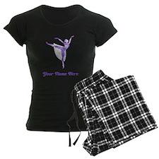 Personalized Ballet Women's Dark Pajamas