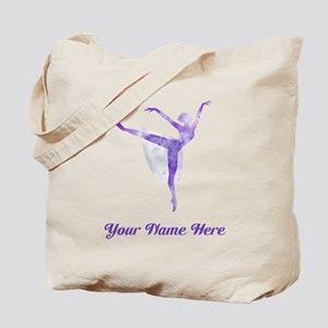 Personalized Ballet Tote Bag