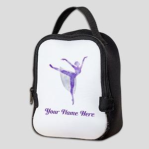 Personalized Ballet Neoprene Lunch Bag