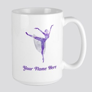 Personalized Ballet Large Mug