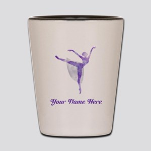 Personalized Ballet Shot Glass
