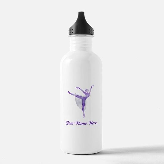 Personalized Ballet Water Bottle