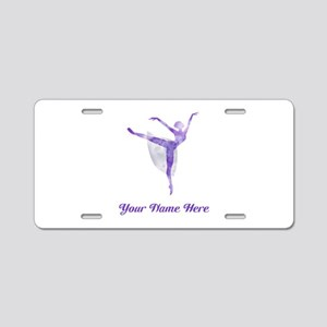 Personalized Ballet Aluminum License Plate