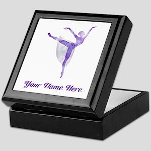 Personalized Ballet Keepsake Box