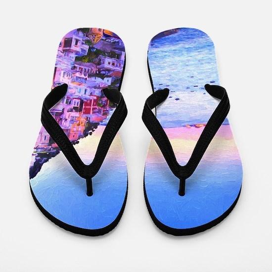 Cute Art Flip Flops
