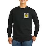 Rose Long Sleeve Dark T-Shirt