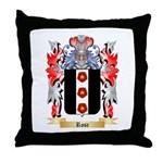 Rose English Throw Pillow