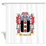 Rose English Shower Curtain