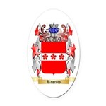 Roscow Oval Car Magnet