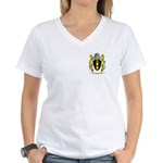 Rosas Women's V-Neck T-Shirt