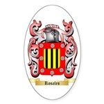 Rosales Sticker (Oval)