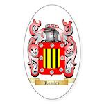 Rosales Sticker (Oval 10 pk)