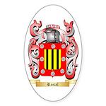 Rosal Sticker (Oval 50 pk)