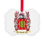 Rosal Picture Ornament