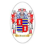 Roque Sticker (Oval 10 pk)