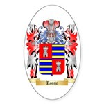 Roque Sticker (Oval 50 pk)