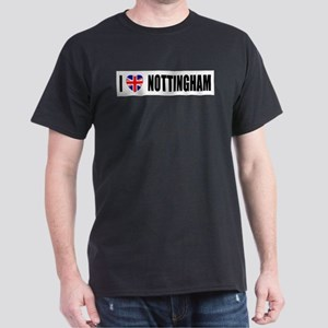 I Love Nottingham Dark T-Shirt