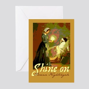 Florence Nightingale Student Nurse Greeting Cards
