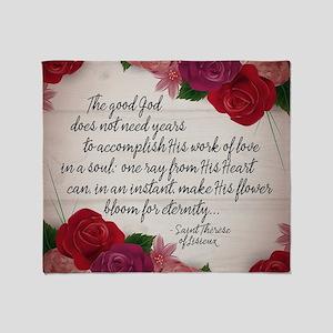 Bloom for Eternity Throw Blanket