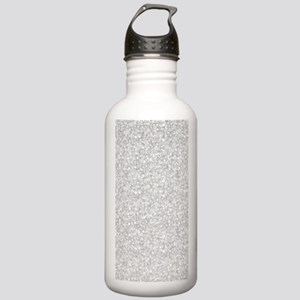 Silver Gray Glitter S Stainless Water Bottle 1.0L
