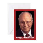 Dick Cheney Halloween Greeting Cards (Pk of 10)