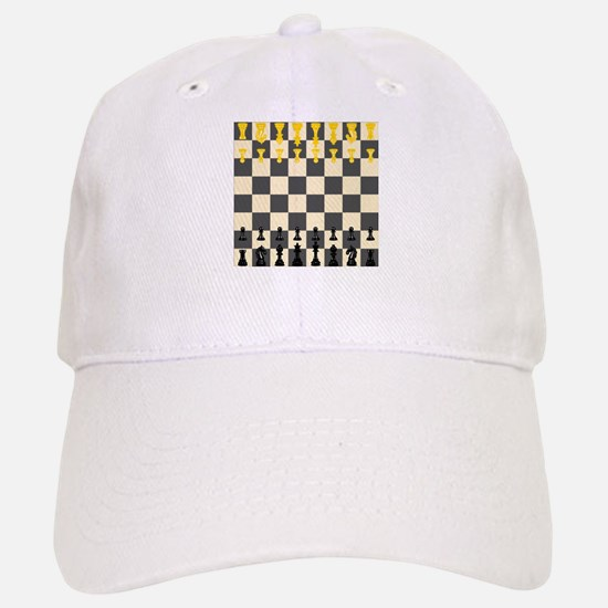 Chessboard Baseball Baseball Baseball Cap