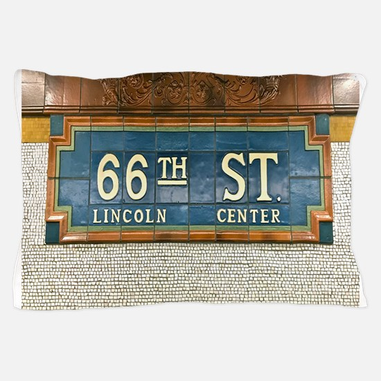 Lincoln Center Subway Station Pillow Case