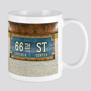 Lincoln Center Subway Station Mugs