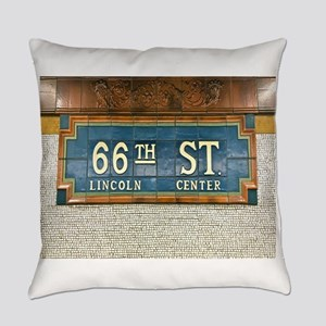 Lincoln Center Subway Station Everyday Pillow