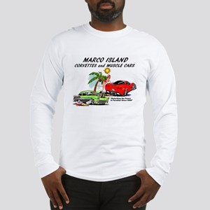 marco island corvettes and muscle cars Long Sleeve