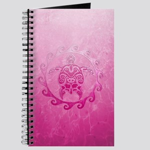 Pink Tribal Turtle Sun Journal