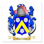 Roozeboom Square Car Magnet 3
