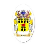 Rooze Oval Car Magnet