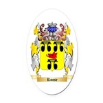 Roose Oval Car Magnet