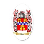 Roos Oval Car Magnet