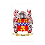 Roos Sticker (Rectangle 10 pk)
