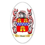 Roos Sticker (Oval)