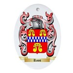 Roos Oval Ornament