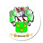 Rooneen Round Car Magnet