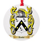 Rooke Round Ornament